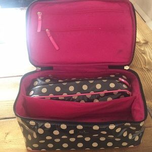 """Kate Spade Cosmetic Case w/removal """"to-go"""" case"""